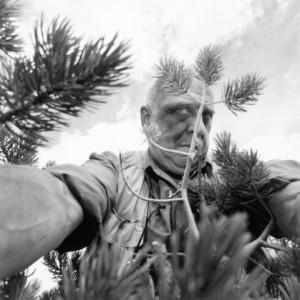 Lee Friedlander, Self Portrait