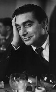 Robert Capa, by Ruth Orkin