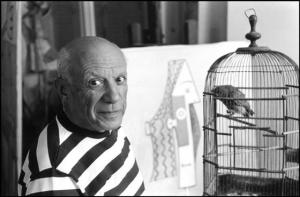 Picasso, by René Burri
