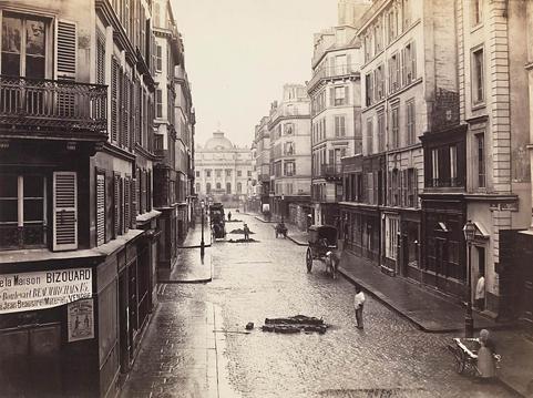 Rue De Constantine, Charles Marville, 1865