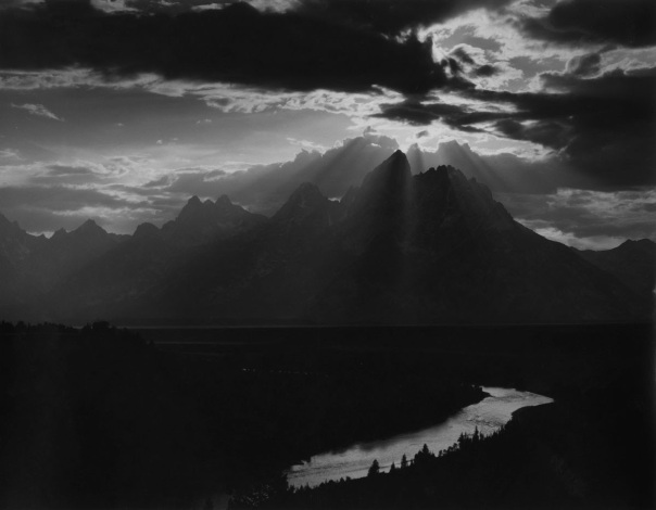 One of Joseph Bellows recent acquisitions: The Grand Tetons, Wyoming, from Sequence 15 1959, by Minor White
