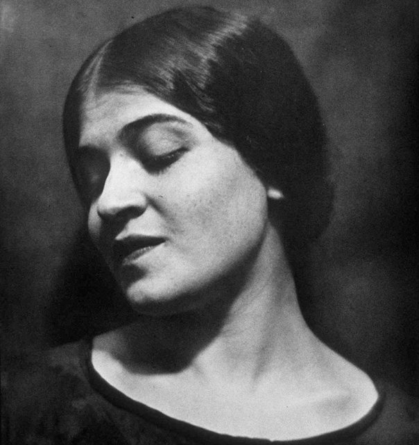 Portrait of Tina Modotti by Edward Weston, 1924