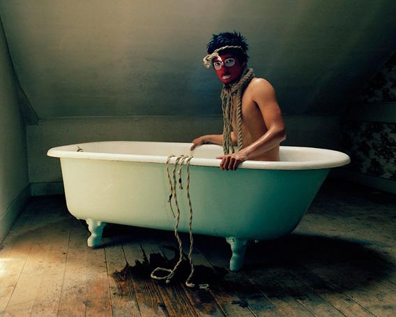David Favrod, Autoportrait en pouple, 2009