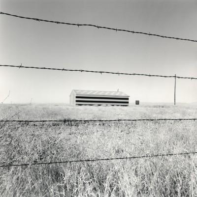 Patriotic Barn, Rolfe Horne, Madera, CA, 2013
