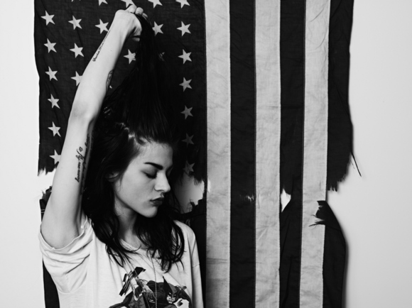 Frances Bean Cobain (Daughter of Kurt Cobain), Hedi Slimane