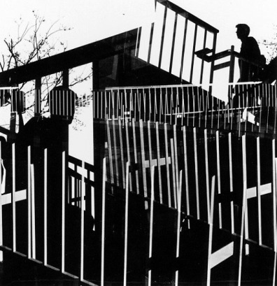 Philadelphia Penn Center, 1965, Ray K Metzker
