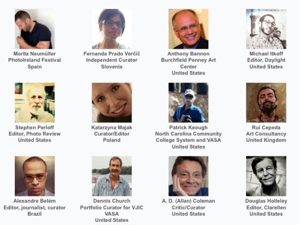 A sample of VASA's international field of judges