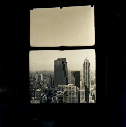 Manhattan Through a Window, 1930s, Walker Evans
