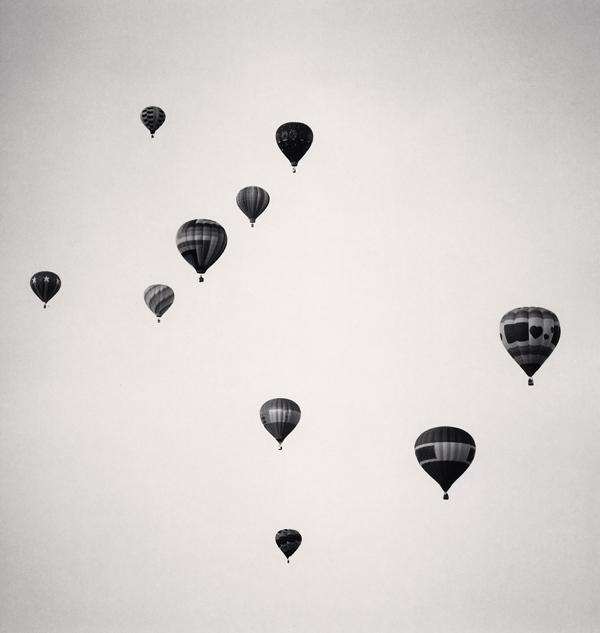 Ten Balloons, Albuqurque, New Mexico, 1993