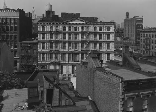 Bond Street, Facing North, New York, 1976, Bevan Davies