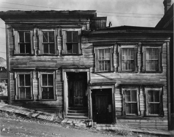 Houses on Incline, Virginia City, Nevada, Wright Morris