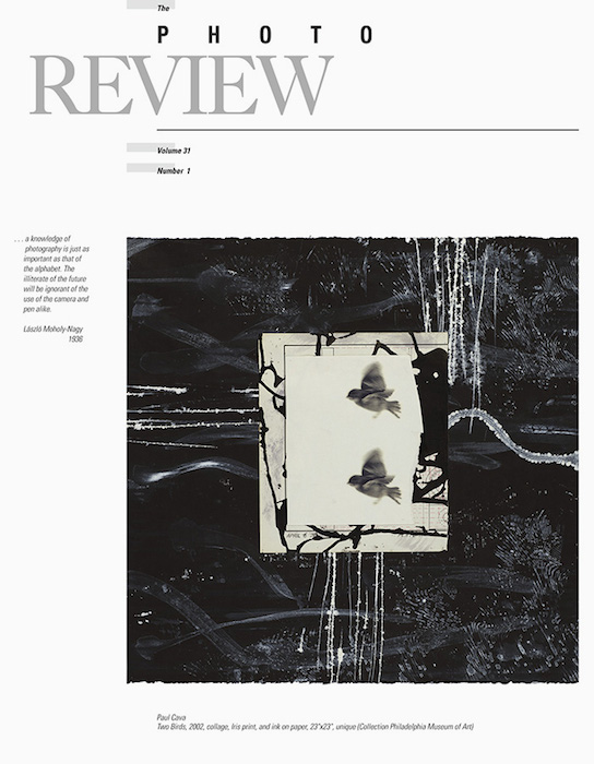 Issue 31:1, Cover Photo by Paul Cava