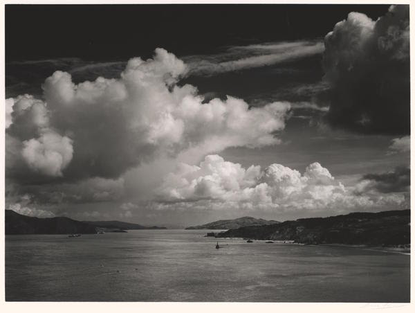 The Golden Gate Before the Bridge, Ansel Adams,  1932