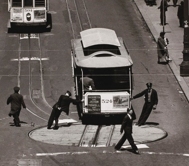 Cable Car, San Francisco, 1947, Max Yavano