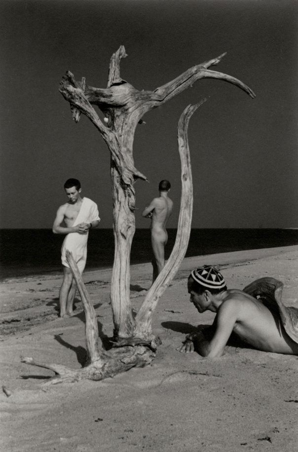 George Tooker, Jared French and Monroe Wheeler, Provincetown, c. 1947
