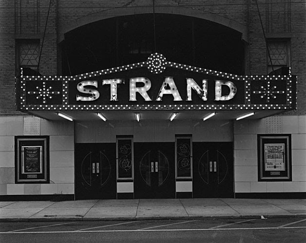 Strand Theater, Keyport, NJ, George Tice, 1973