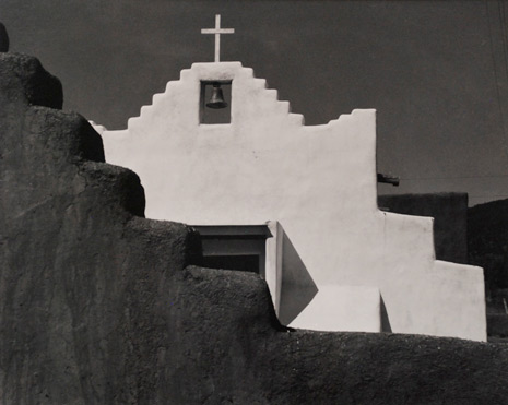 Picuris Church, 1961, Laura Gilpin
